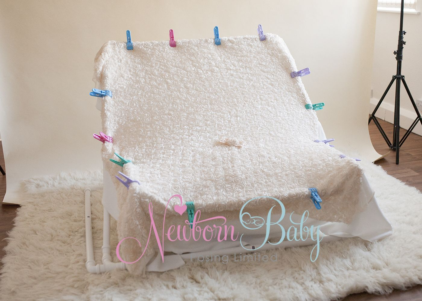 Frame For Beanbag Newborn Baby Posing Limited